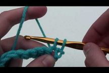 Learn to crochet / learning the basics
