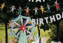 Kindergeburtstag Ideen / Ideen für den Kindergeburtstag, Familienfeste feiern, Mottoparties, Deko-Ideen, Kindergeburtstag Inspiration