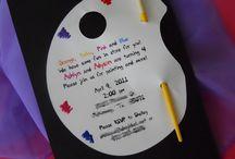 Kiah paint party / Birthday party