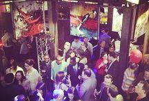 Jeudi d'APOLLO Nuit magique à la Galerie Lisabel / Évènements de réseautage professionnels parrainés par SICOTTE Recrutement.