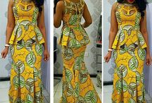 Africa print skhert