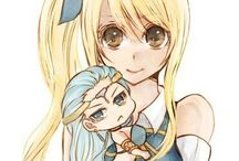 Fairy Tail Lucy and Aquarius