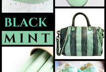 Black & Mint '' by Reyhan