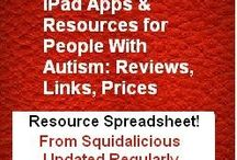 Apps for Kids with Autism / Much of this board is from a spreadsheet @ http://is.gd/12ygv8 compiled by a SLP and a parent of a child who has autism- http://bit.ly/ykvNUl and recommended by Kathie Harrington http://www.kathiesworld.com/.  / by SOS Inc. Resources