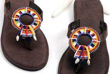 sandales Massai