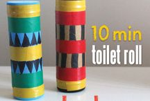 Toilet roll uses