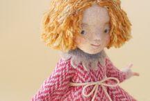 doll wool hair