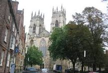 The Amazing Medieval City of York / A board of the best places to visit in this amazing medieval city!