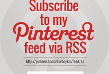 Subscribe to My Pinterest Feed