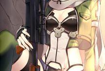 Chica con arma