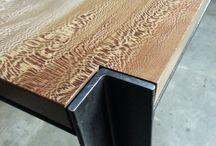 hierro y madera