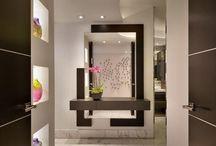 mirror with storage design