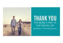 Thank You Card Inspiration / by Candid Apple Photography & Design