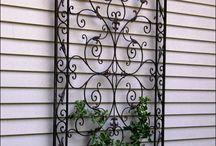 Porch Wrought Iron Ideas