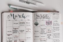 Bullet Journal / Planner Ideas