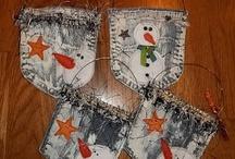 jeans / dekoracje