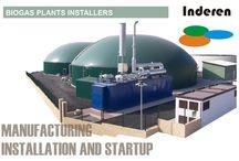 BIOGAS PLANTS INSTALLERS / INDEREN We are european biogas plants installers