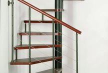 csiga lépcső