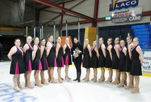Synchronized skating / Team Ice United from The Netherlands