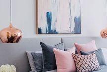 Dusty pink bedroom inspo