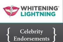 Celebrity Endorsements / by Whitening Lightning