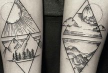 Wave Mountain Tattoo