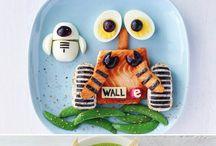 Fun kids food arrangements