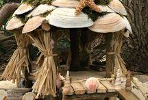 ракушки в декоре
