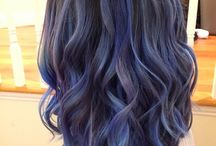 hair color&style