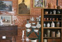 at Emporium Antiques / the latest and greatest offerings by our over 100 dealers