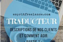 Esprit Traducteur / Traduction / Mes articles sur mon blog Esprit Freelance