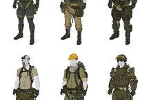 Power armor・exosuit・armor