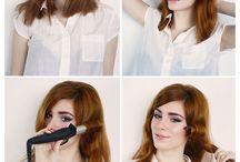 Vintage hairstyles tutorial