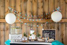 párty dekorace