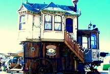 Quirky Homes / your home is your castle...or shoe..or tree house..or......