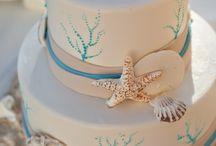 Sea shore Wedding cakes