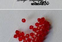 Cœur en perle