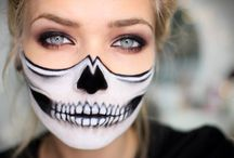 Halloween make-up tutorials