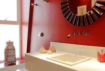 Banheiros e Lavabos-Bathrooms and Toilets