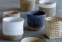 weaving / woven baskets