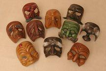 Commedia dell'Arte Masks
