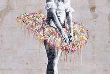Street Art * / Street Art / by Michele Eberhardt