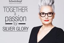 Professional Shades of Grey / Campaign imagery from biggest and best professional Hair Care and Colour brands