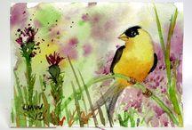Bird Art - Taidetta Linnuista