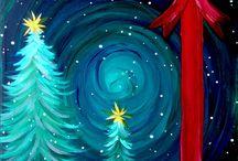 3 Christmas Art
