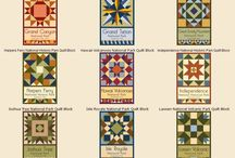 SEWING : patchwork quilt pattern