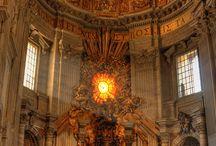 templomok, bazilikák