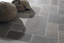 Bathroom floor tiles / Flooring and floor tile ideas for bathrooms