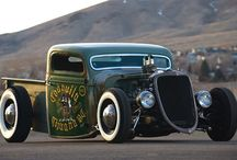 Rat Rods!!!! / What I greatly desire to call my own. / by Sally Muhs