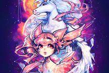 Rini/Sailor Mini Moon/ Dark Lady/ Young Lady
